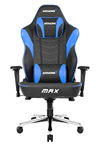 AKRacing Master's Series Max Gaming Chair with Wide Flat Seat