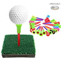 """crestgolf 23/4""""goma Top Equipo de Golf Tees"""