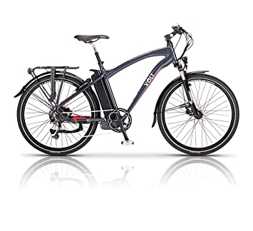 Volt Electric Bike - Pulse - Long Distance E Bike - Hybrid Bike Perfect for  Road and Country Trails - Women and Mens Bike Available in Multiple Frame