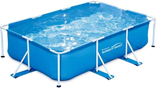 Summer Waves - Piscina Tubular Rectangular (3 x 2, 01 x 0, 75 m ...