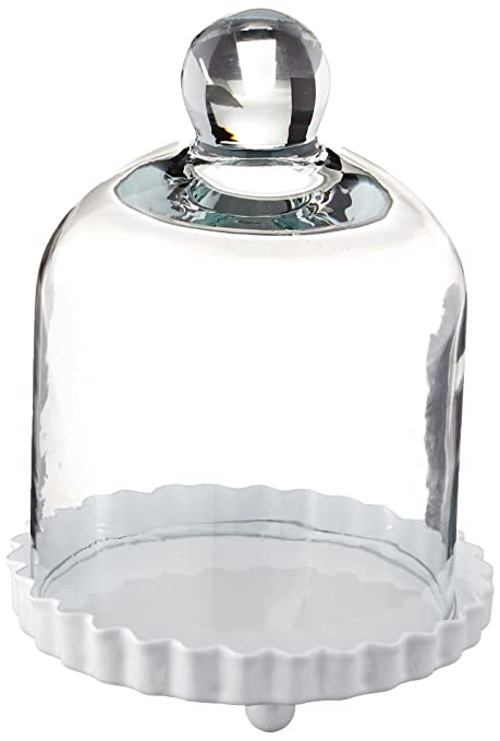 Miniature Glass Bell Jar - Cupcake Cloche  sc 1 st  Amazon.com & Amazon.com: Miniature Glass Bell Jar - Cupcake Cloche: Kitchen \u0026 Dining