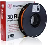 Filatech PETG Filament, Lum. D. Orange, 1.75mm, 0.5KG