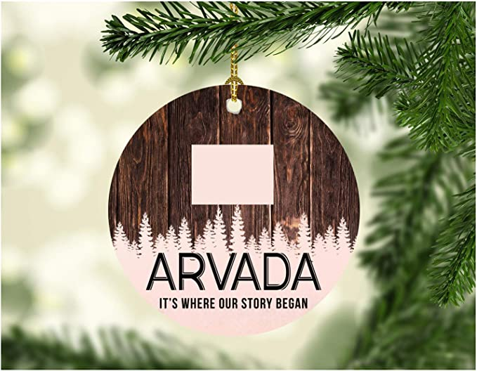 When Does Bjs Get Their Christmas Decorations 2020 Amazon.com: Christmas Tree Ornament 2020 Arvada Colorado It's