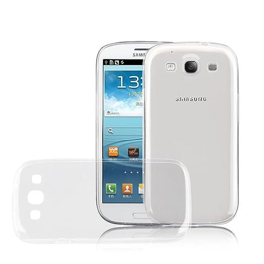 [ Samsung Galaxy S3 / S3 Neo Cover ] - Carcasa JammyLizard De Silicona Ultra Fina Gel Flexible Case, TRANSPARENTE