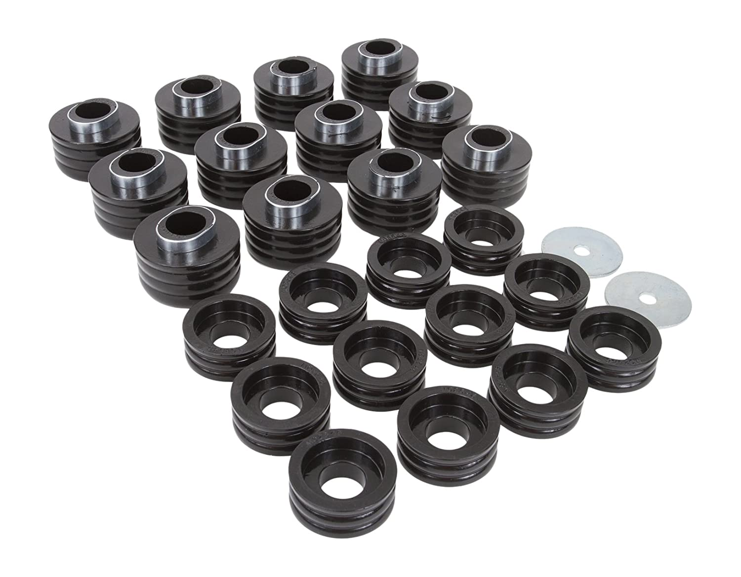 Daystar, Ford Excursion Polyurethane Body Mounts, fits 1999 to 2005 2/4WD, KF04051BK, Made in America