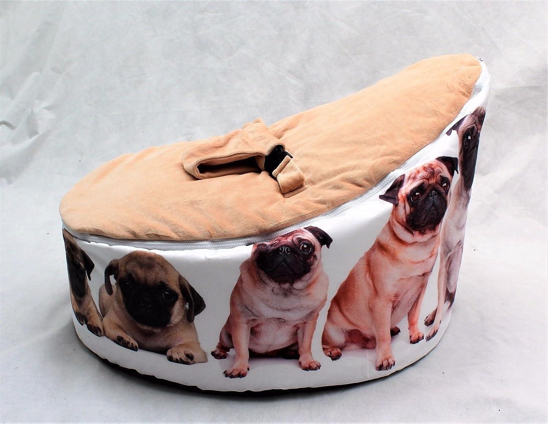 Puf arnés ajustable para niños silla para bebé Diseño de perro Pug ...