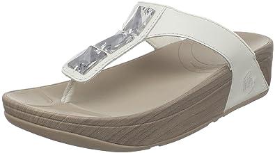 12093149fb332 Fitflop Pietra White 6UK - 39EU  Amazon.co.uk  Shoes   Bags