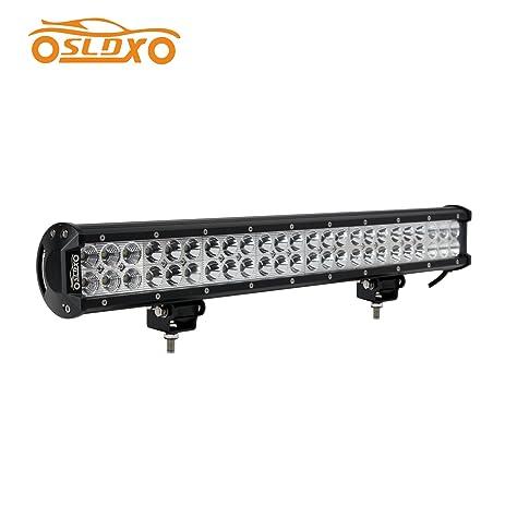 Amazon sldx 144w 22 inch led light bar off road bar light sldx 144w 22 inch led light bar off road bar light truck light bar spot flood aloadofball Images