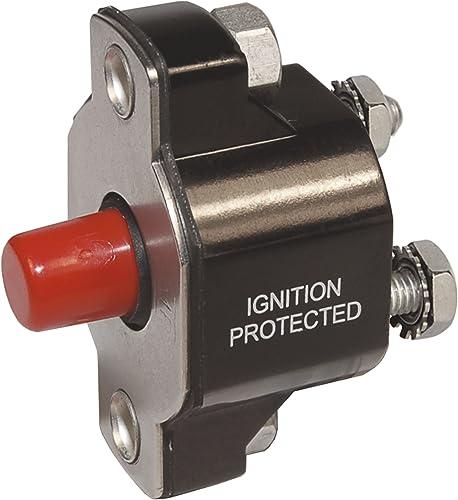 Blue Sea Systems Medium Duty Push Button Circuit Breakers