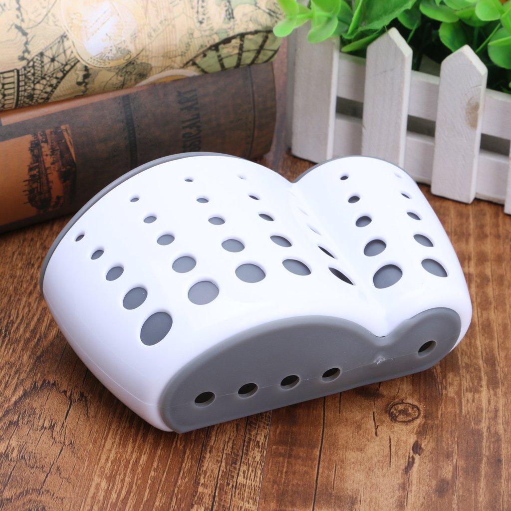 Tebatu Sink Caddy Double Layer Sponge Holders For Bathroom Kitchen Organization Baskets by Tebatu (Image #7)