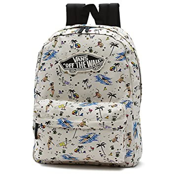 MOCHILA Vans Realm Backpack (Summer Stories)  Amazon.es  Deportes y ... e65b3a92d91