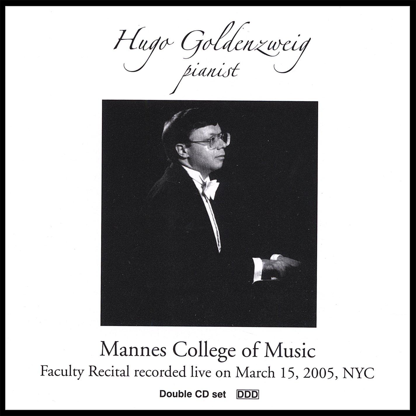 Hugo Goldenzweig: Live Piano Recital