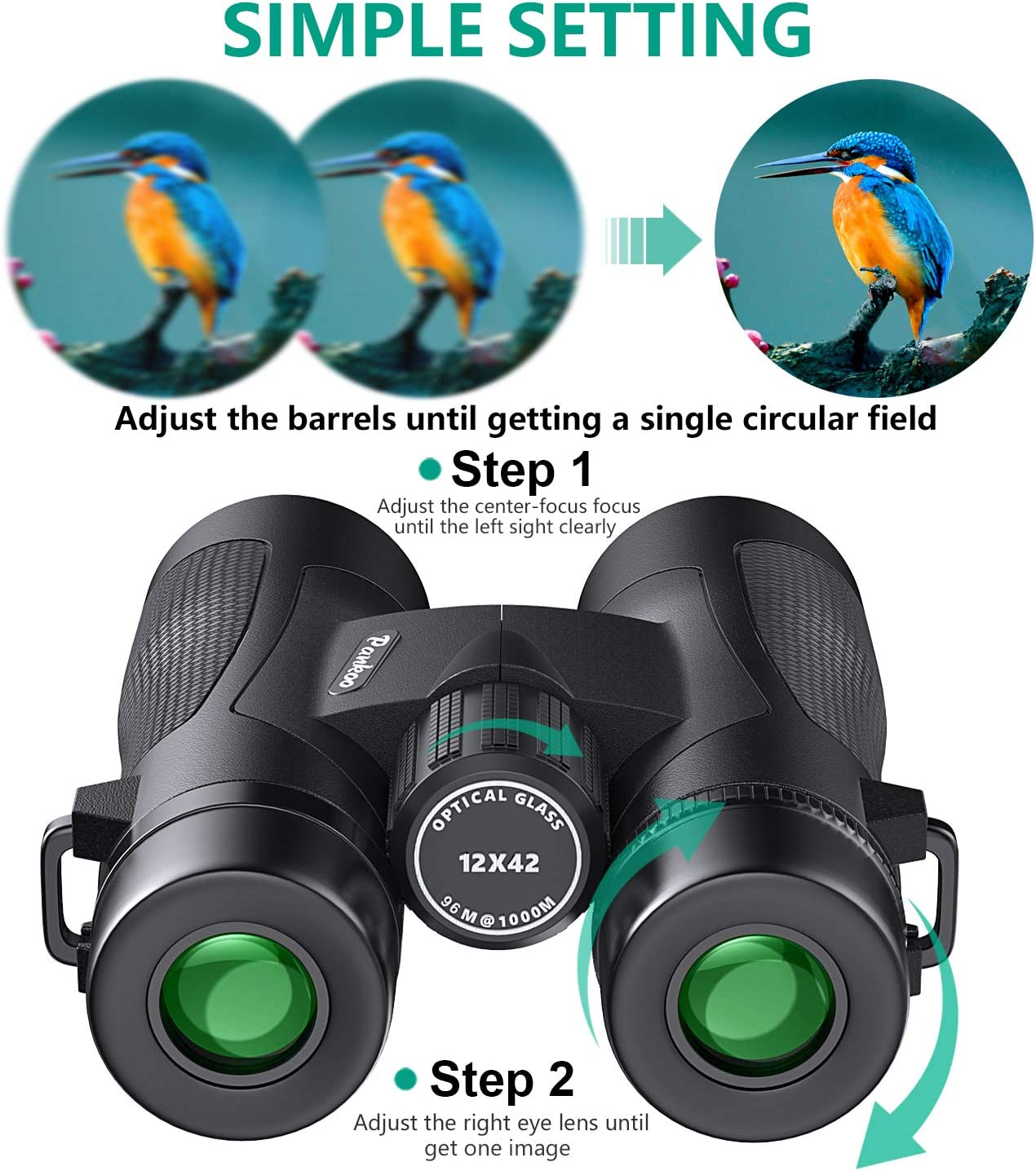 Nikon Oceanpro 7 X 50 Cf Wp Fernglas Mit Kompass Kamera