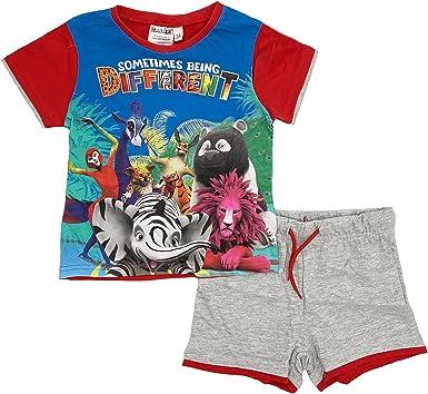 -Bing Juego completo de camiseta con pantalón corto, talla 1 2 3 4 5 6 años