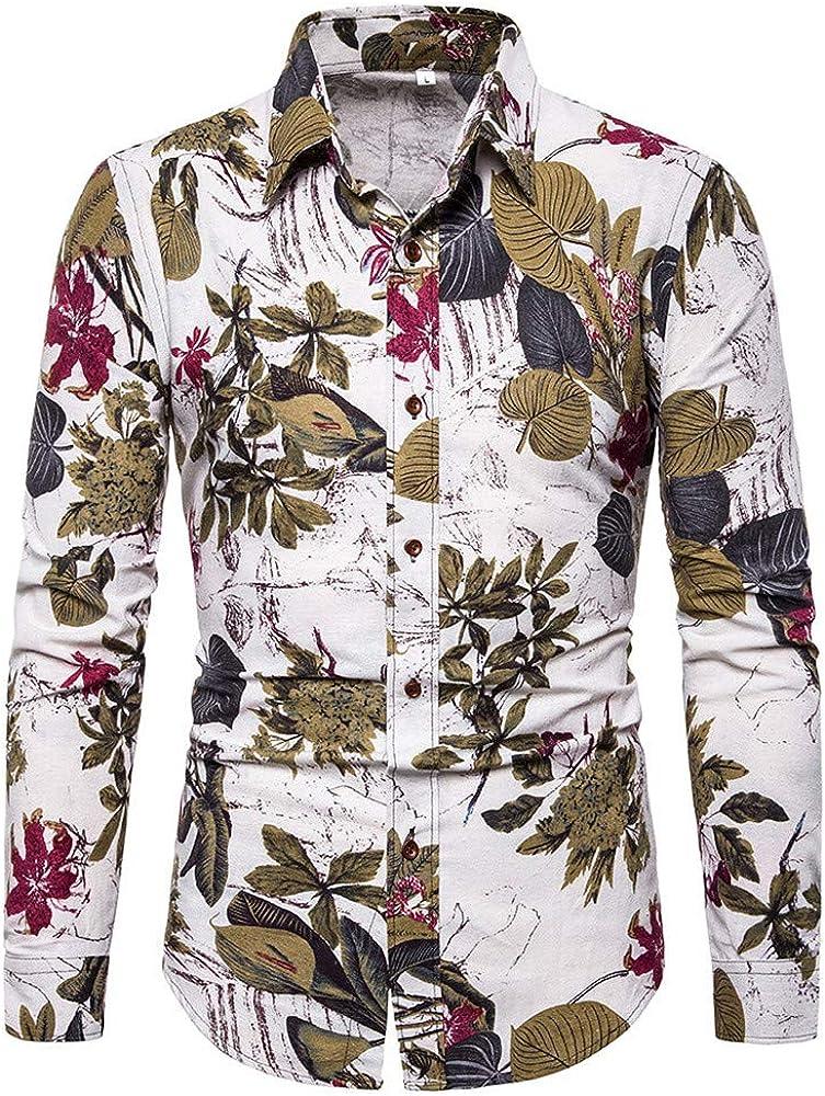SXZG Camisas de Moda para Hombres, Tops Casuales Estampados, Cómodos: Amazon.es: Ropa y accesorios