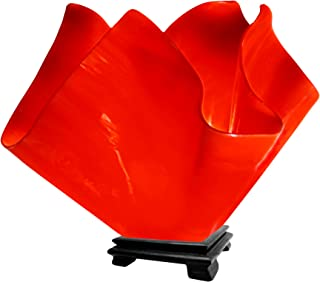 product image for Jezebel Radiance VALA-FP16-RER Flame Vase Lamp, Large, Fiery Red
