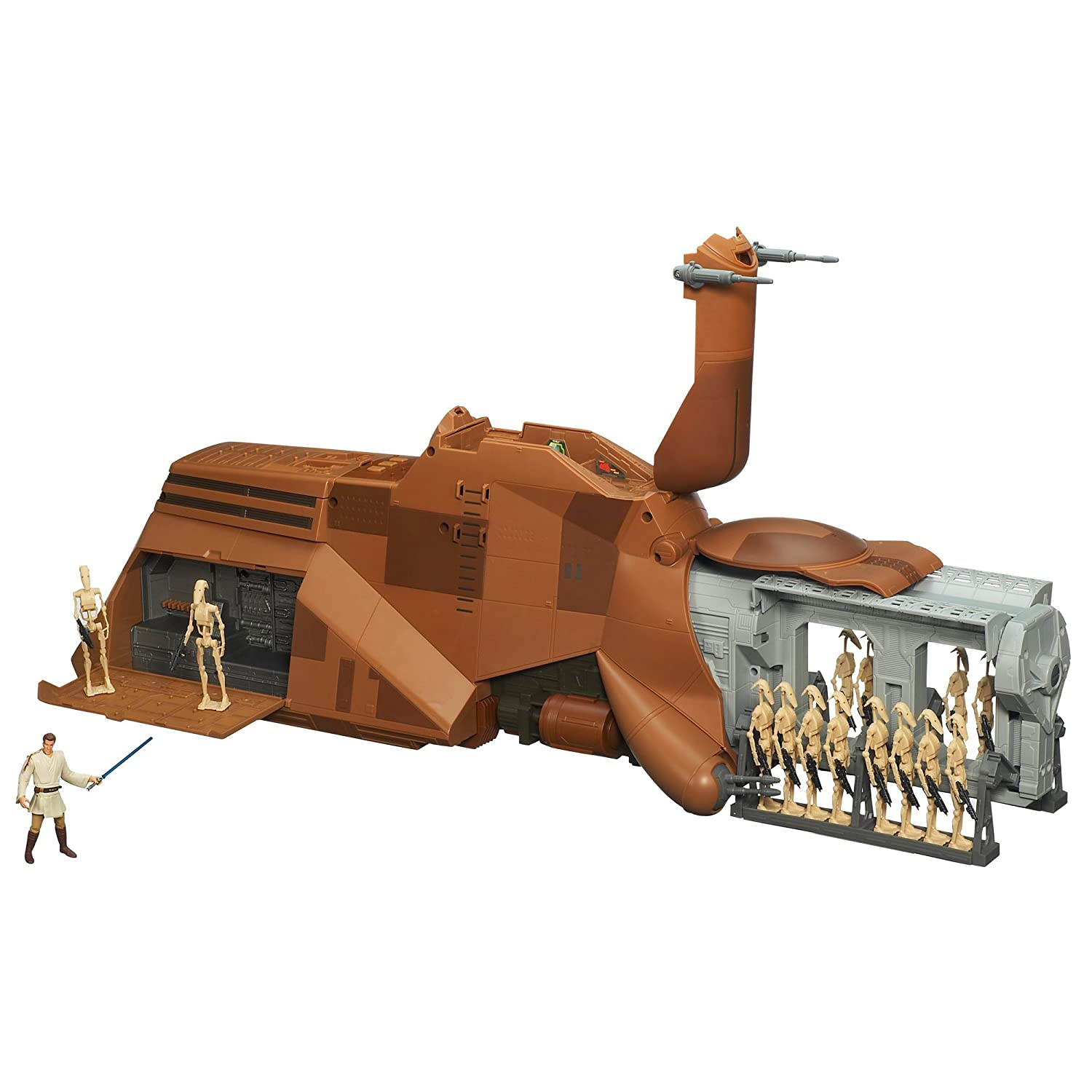 Amazon.com: Star Wars MTT Droid Carrier Vehicle: Toys & Games