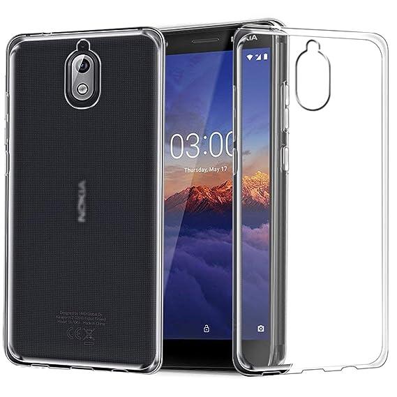 size 40 85990 8faed Amazon.com: Nokia 3.1 Case, Zeking Slim Thin Anti-Scratch Clear ...