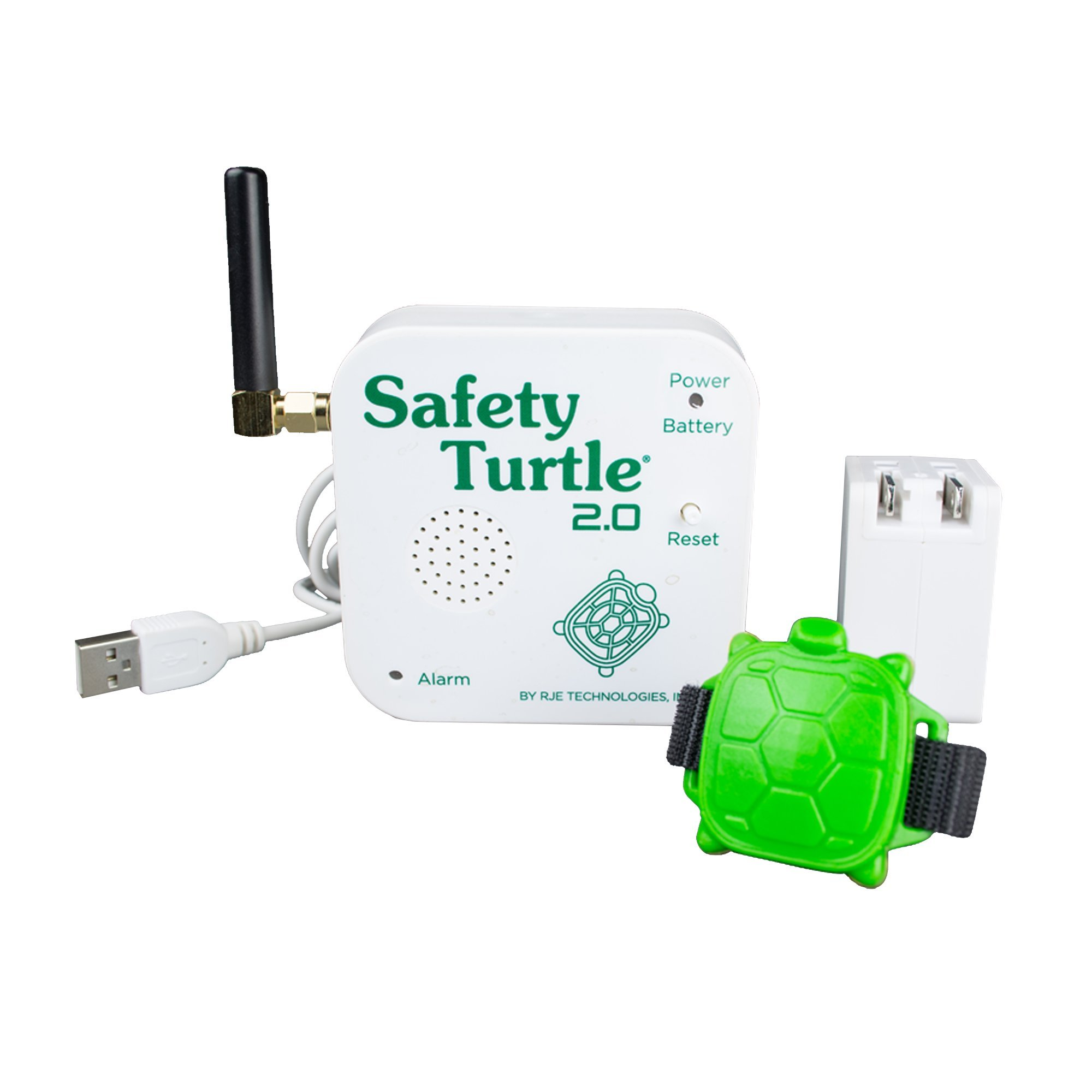 Safety Turtle New 2.0 Pet Immersion Pool/Water Alarm Kit for Pets ONLY by Safety Turtle