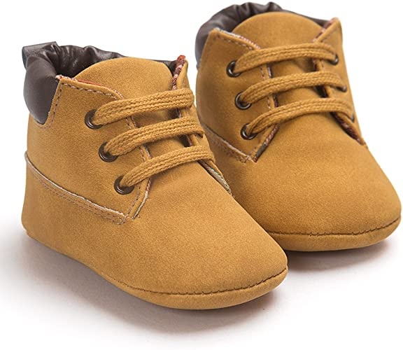 Baby Toddler Soft Sole Shoes Leather Winter Shoes Infant Boy Girl Casual Shoes