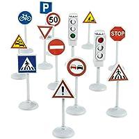 Norev 318990 - Juego de señales de tráfico