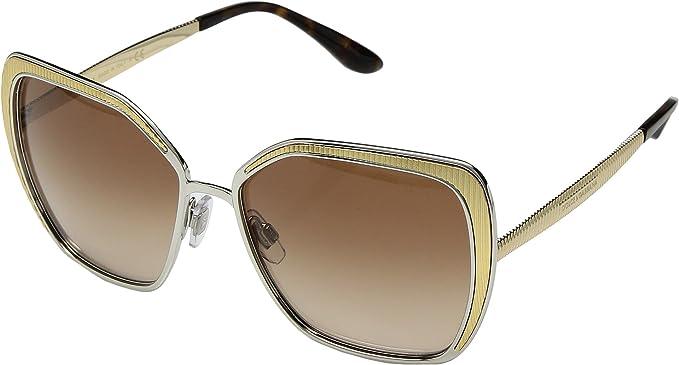 Dolce e Gabbana 0DG2197, Gafas de Sol para Mujer, Silver, 56 ...