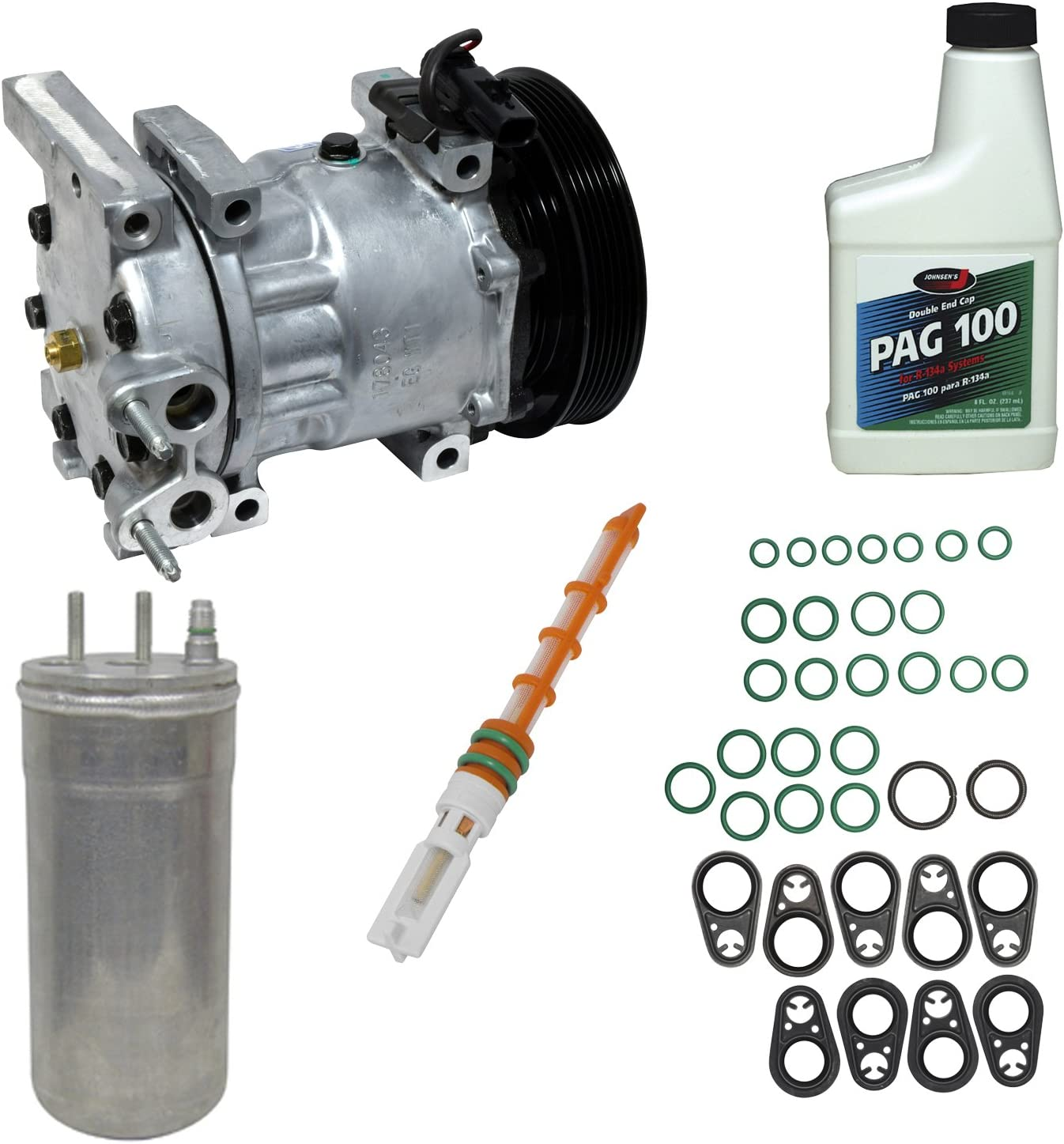 Universal Air Conditioner KT 1569 A//C Compressor and Component Kit