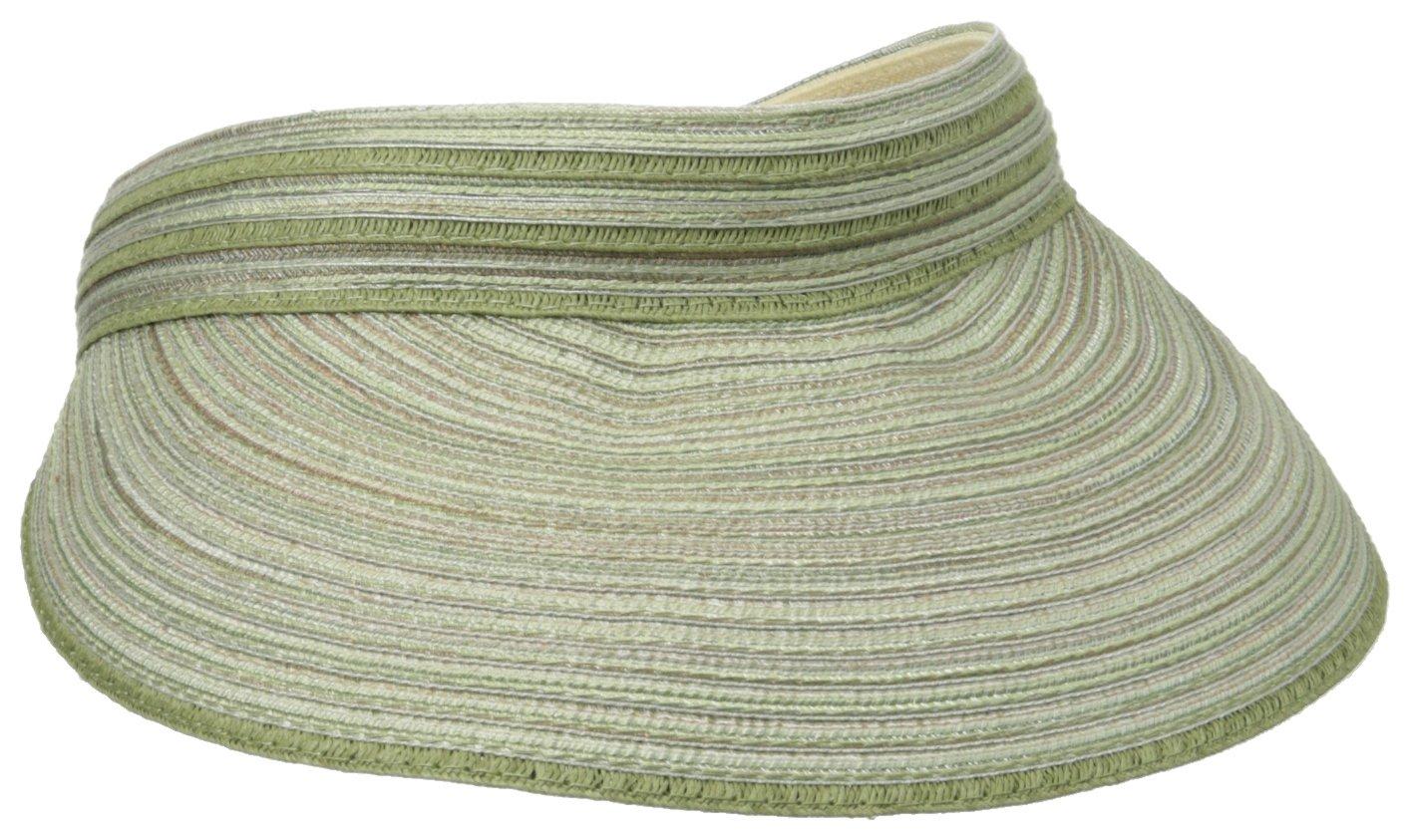 San Diego Hat Company Women's Mixed Braid Visor