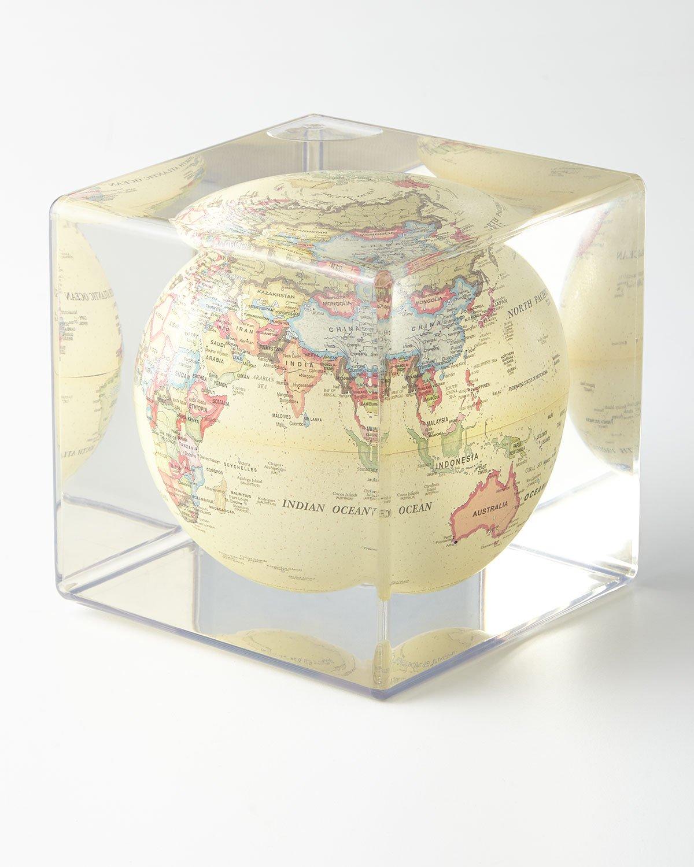 Mova–Cube–Antique Beige MOVA Globes