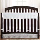BreathableBaby Railguard Plus Rail Cover and Liner, White