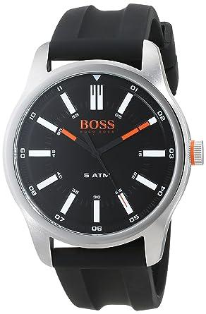 a994cc7cbd89 Hugo Boss Orange Homme Analogique Classique Quartz Montres bracelet avec  bracelet en Silicone - 1550042