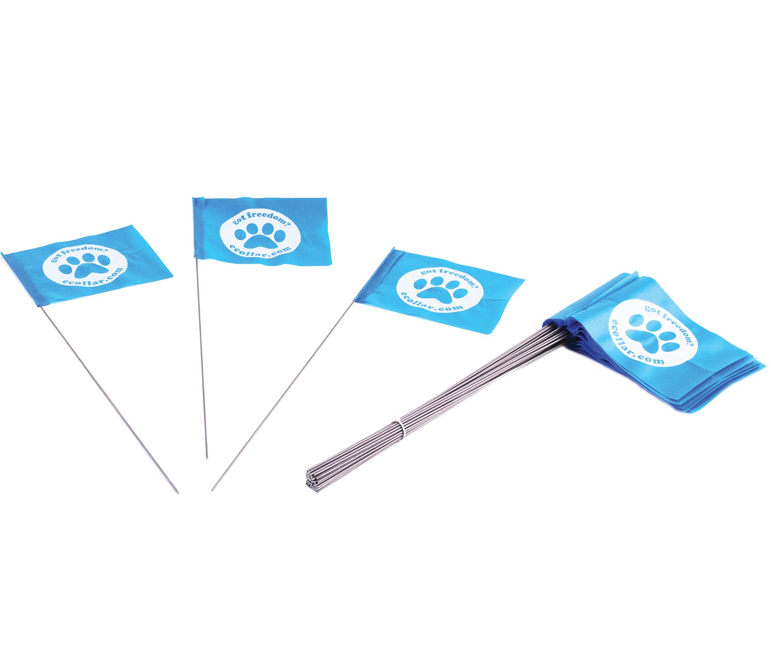 Educator FLAGS-50 Boundary Flags for E-Fence Underground Fence Containment System for Dogs, (Set of 50) by Educator