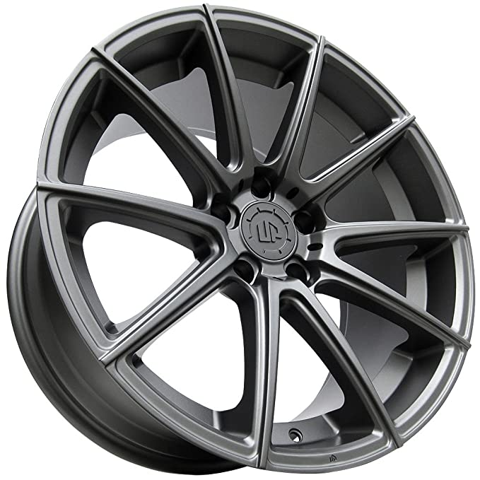amazon 19 up100 wheels set fits audi or volkswagen vw in matte 1987 VW GTI amazon 19 up100 wheels set fits audi or volkswagen vw in matte gunmetal 19x8 5 up wheels rims 5x112 45 by ultimate performance wheels automotive