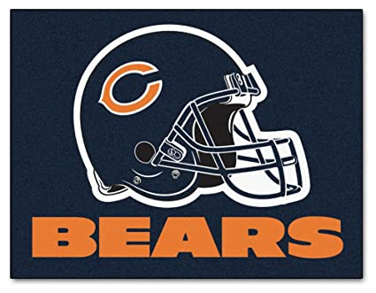 Chicago Bears Deluxe Mat 34 X 42   Chicago Bears Home Decor