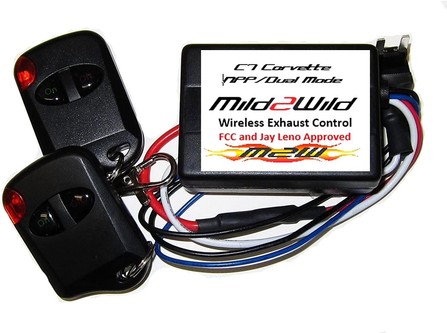 Mild 2 Wild Exhaust Remote C7 Corvette 2014-2019