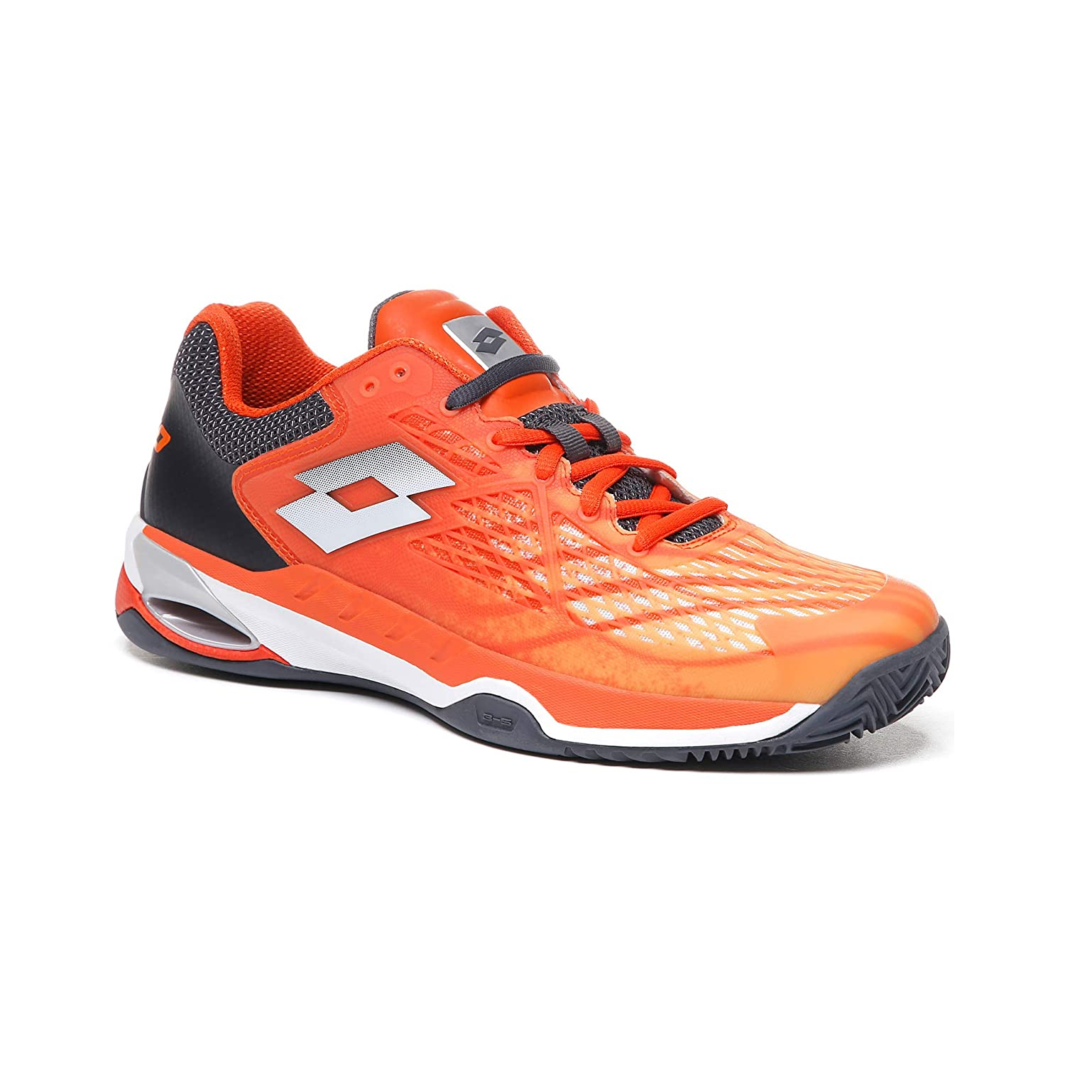 Lotto Mirage 100 Clay Court Shoe Men Orange: Amazon.es: Deportes y ...