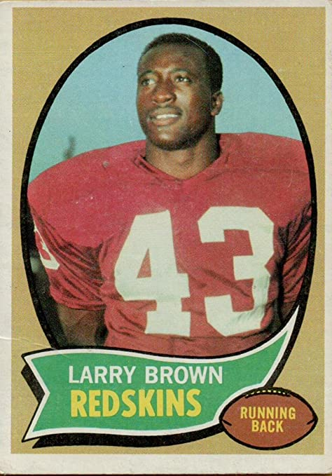 Image Unavailable. Image not available for. Color  Football NFL 1970 Topps   24 Larry Brown RC Rookie Redskins f38432968