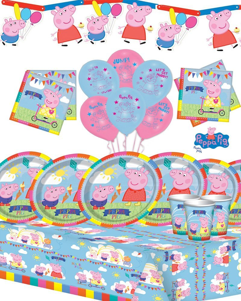Peppa Pig Peppa Deluxe Party Kit Peppa Kit 40