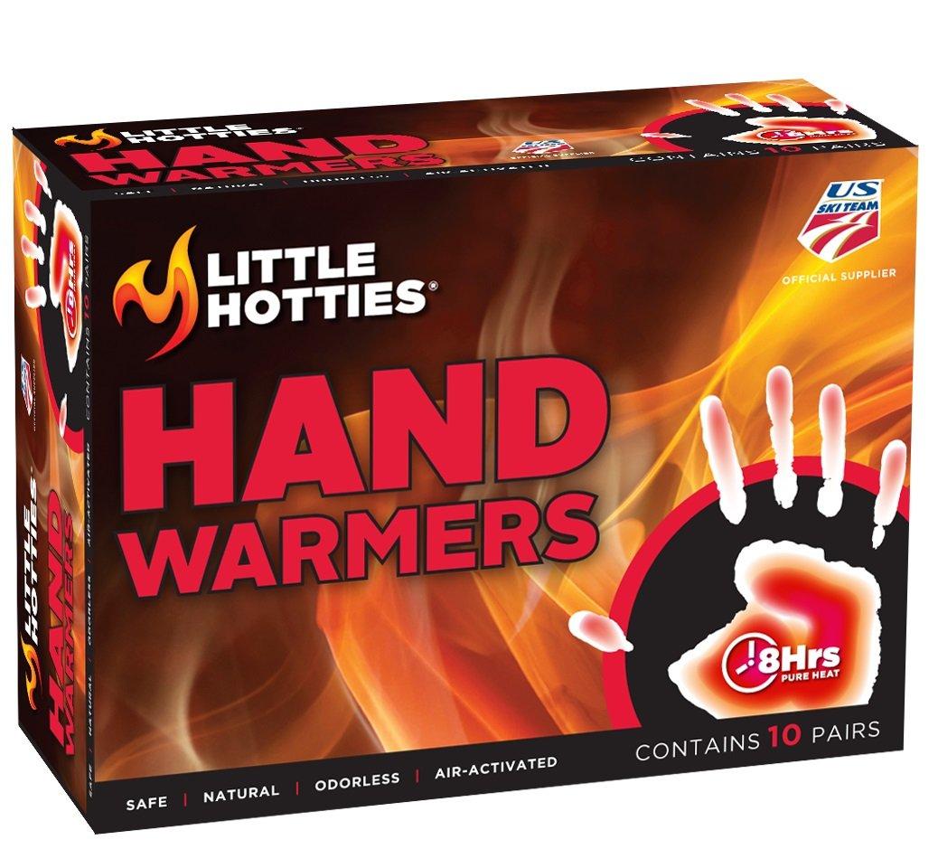 Little Hotties 8-Hour Hand Warmers 10 Pair Implus 7207