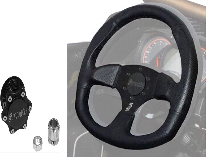 Dragonfire Racing Quick Release SPORT Steering Wheel Kit Polaris RZR Ranger All