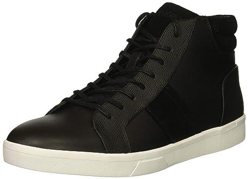 super popular ba27f dbc1b Calvin Klein Ignotus Zapatillas Altas para Hombre, Black, 26