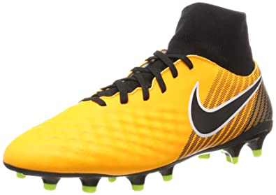 NIKE New Men s Magista Onda II DF FG Soccer Cleat Laser Orange Black 8.5 c1e7e42373ac