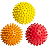 FitNext Massage Balls for Feet, Back, Neck, Hands - Spiky Body Massager Rollers for Plantar Fasciitis, Deep Tissue, Muscle Relief, Trigger Point Therapy, Exercise, Yoga