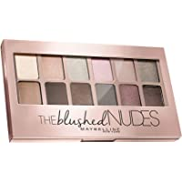 Maybelline New York Paleta de Sombras de Ojos The Blushed Nudes