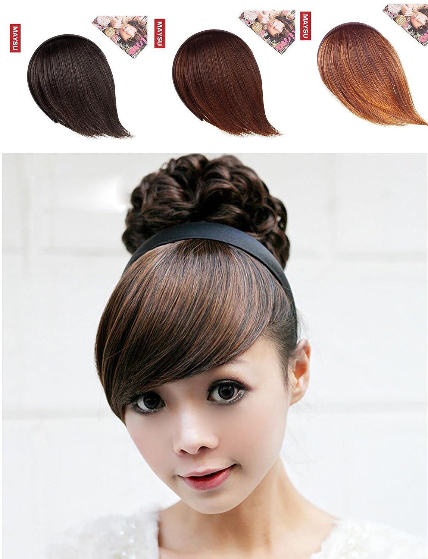 Amazon Maysu False Bang Side Fringe Hairpiece With Hair Band