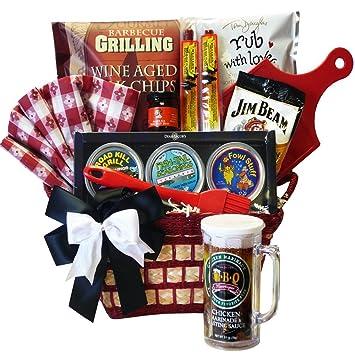 Amazon.com : Road Kill Grill Meat Rub BBQ Gift Basket Set ...