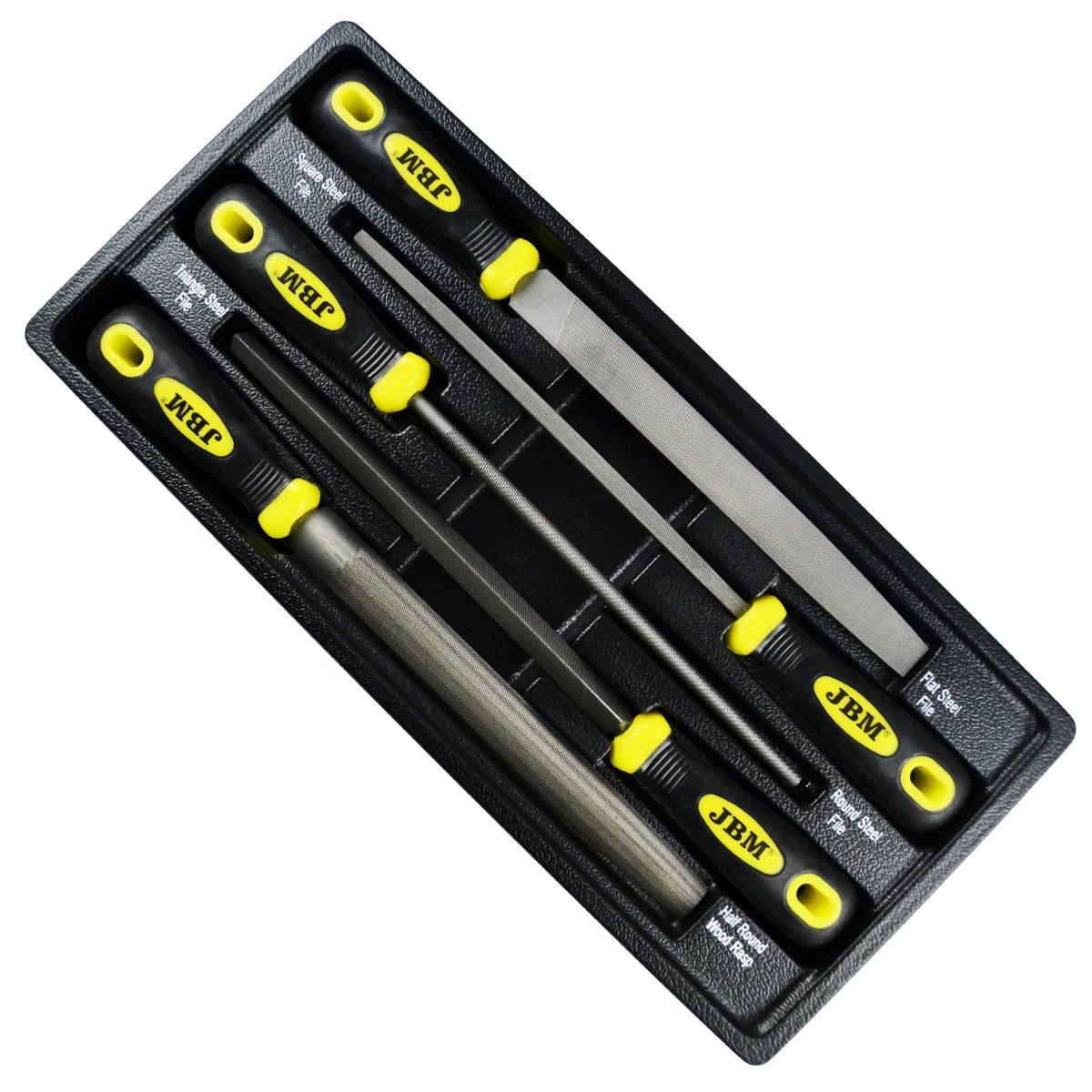 JBM 10735 M/ódulo con limas para carro de herramientas