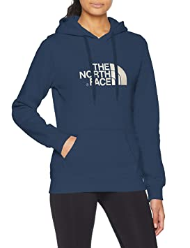890973466b The North Face Wo Drew Peak Sweat-Shirt à Capuche Femme, Blwngteal/Pytbg