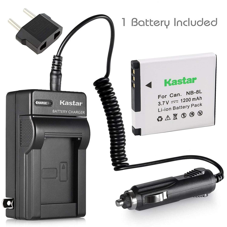 Kastar Nb 8l Battery Charger For Canon Cb 2la 2lae Batre Lp E8 Untuk Tipe Kamera Eos 550d 600d 700d And Powershot A3000 Is A3100 A3150 A3200