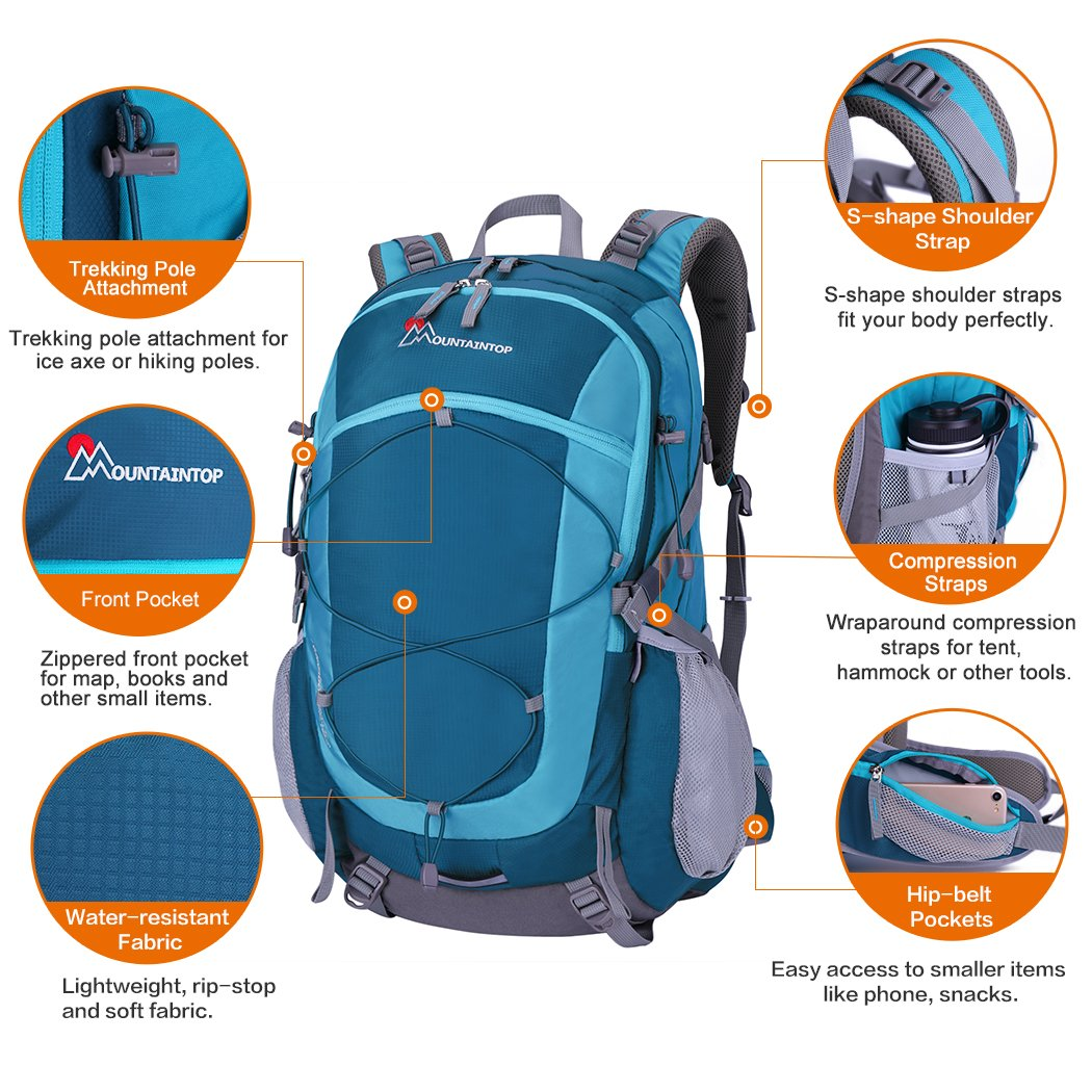 Outdoor Bag 25l Waterproof School Bags For Children Adult Backpacks Sport Hiking Backpack Climbing Traveling Running Rucksack To Clear Out Annoyance And Quench Thirst Sports & Entertainment Climbing Bags